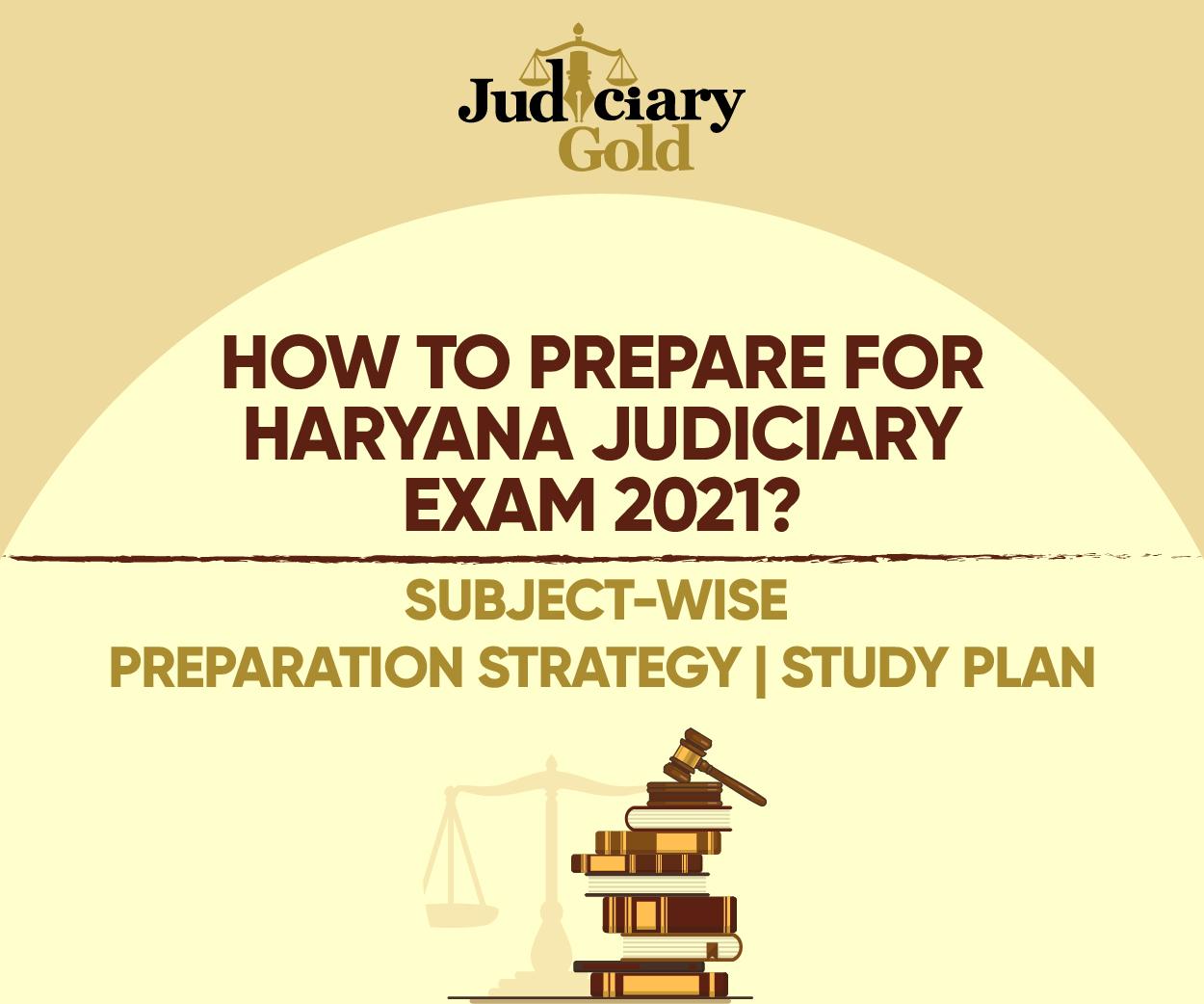 Haryana Judiciary Preparation