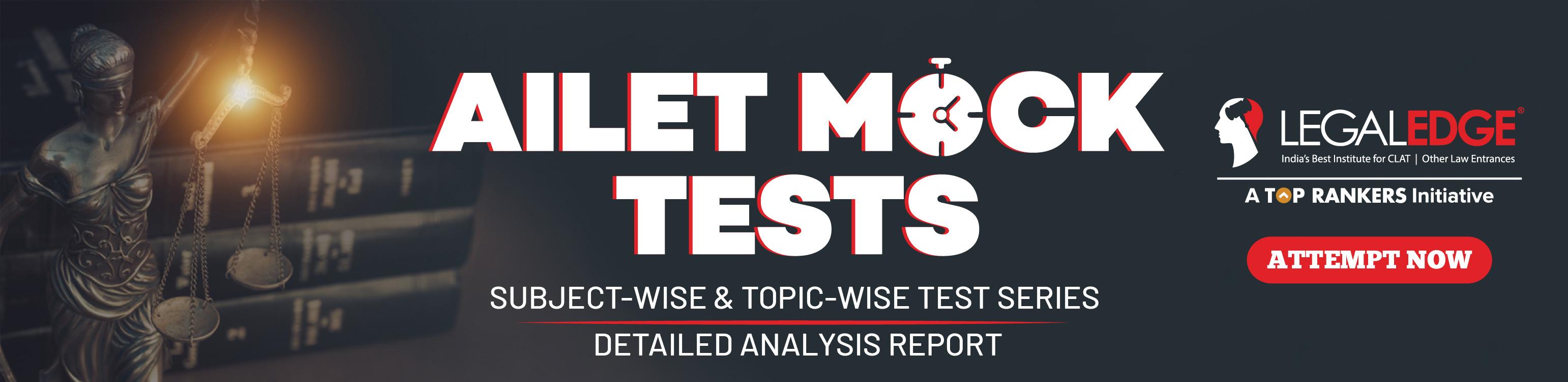 AILET mock test
