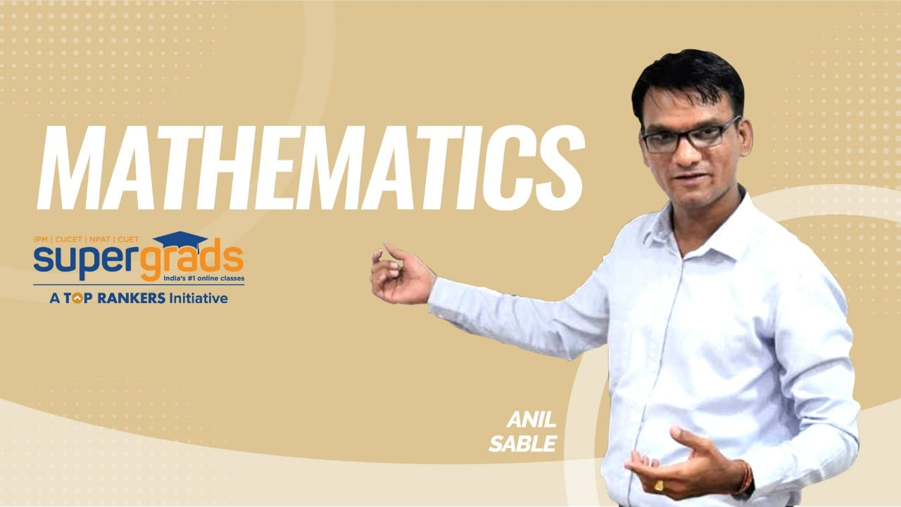 SuperGrads | Mathematics  | IPMAT Indore exam tips | Partnership Concept | Circular races in Speed Distance & Time |  By Anil Sir