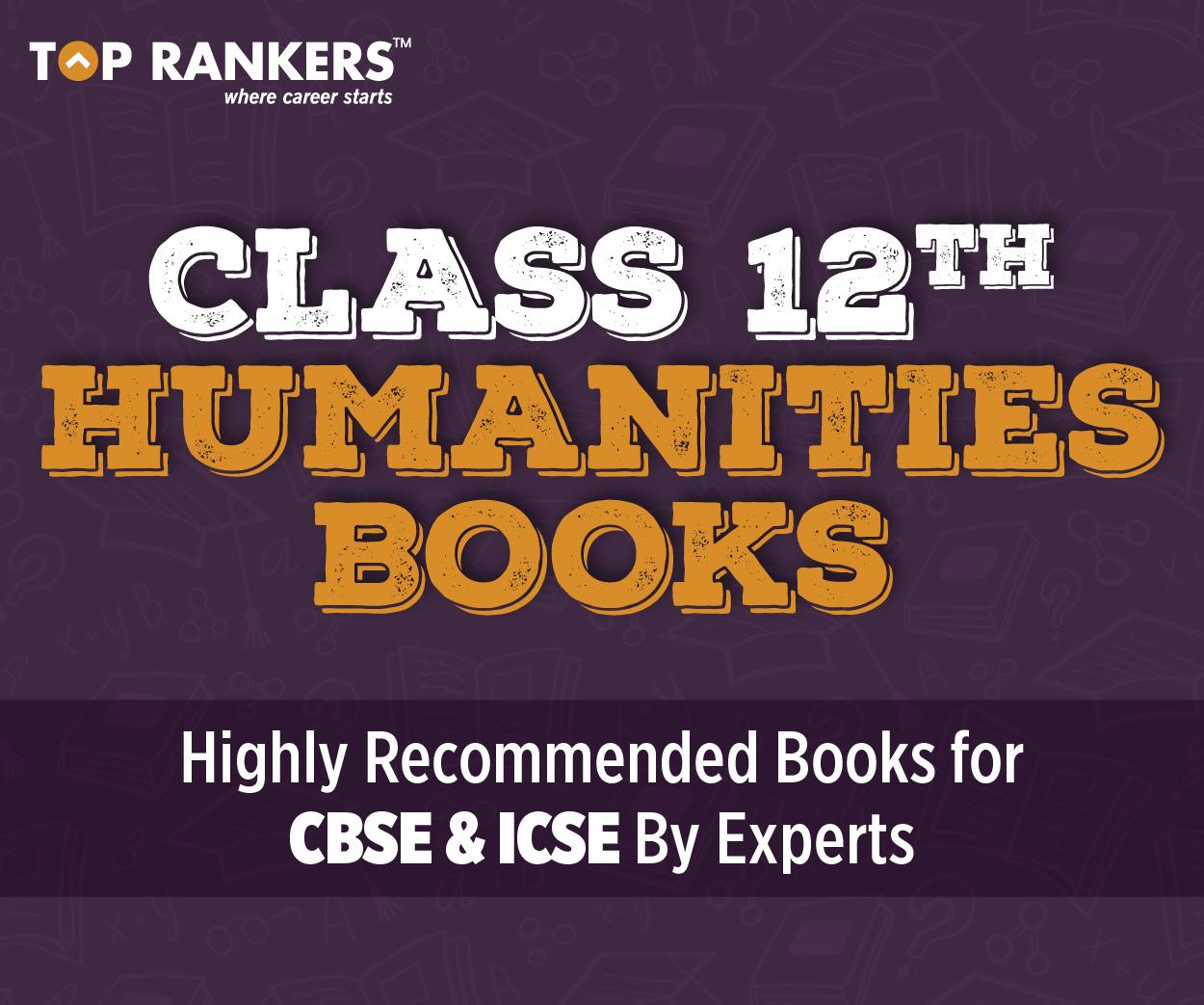 12th humanities books