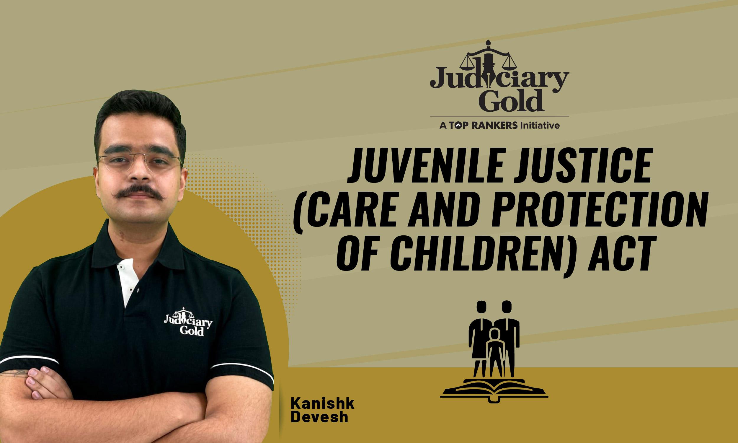 Rajasthan Judiciary Gold | RJS Batch | JJ Act Revision Till Now | By Kanishk Sir