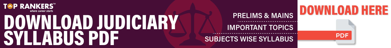 Haryana Judiciary Syllabus