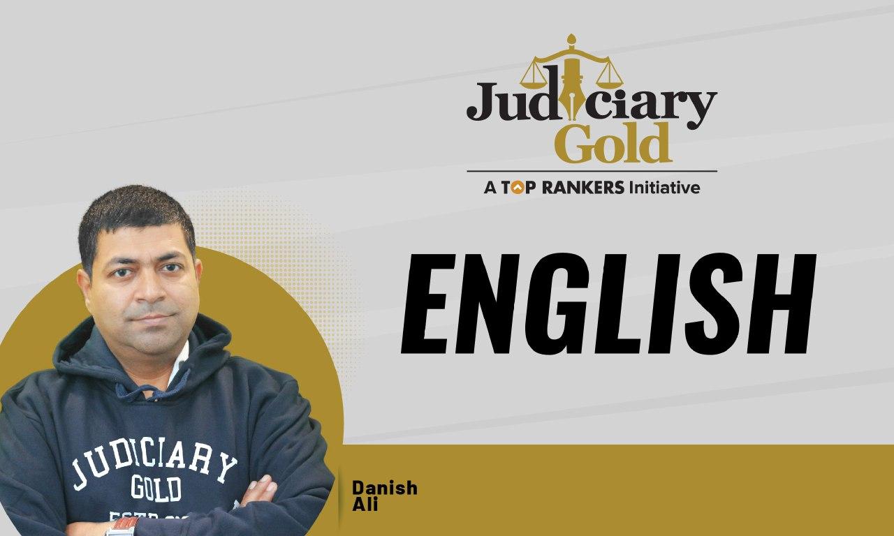 Judiciary Gold | English Language | Parts of Speech | By Danish Sir