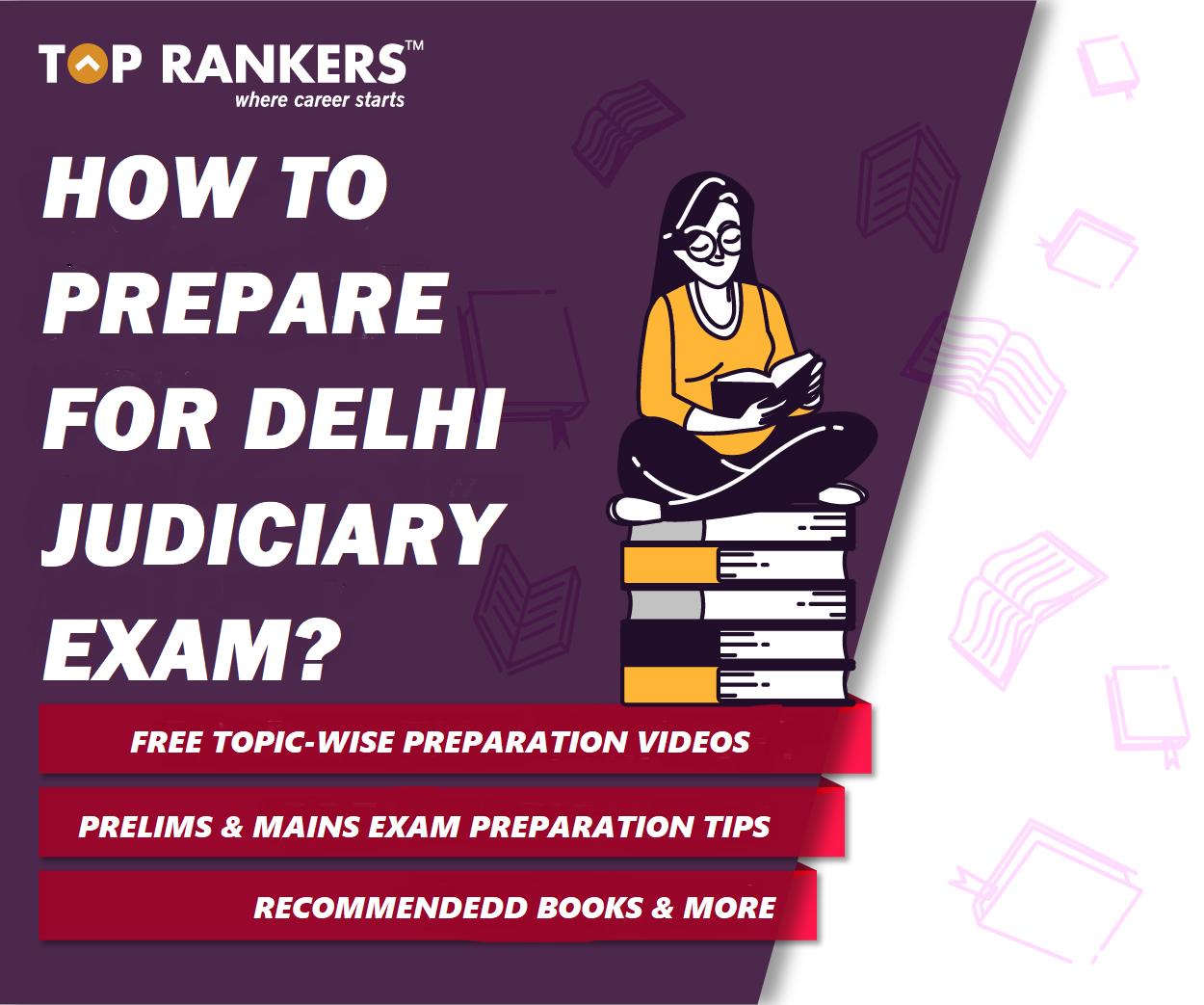 Delhi Judiciary Preparation