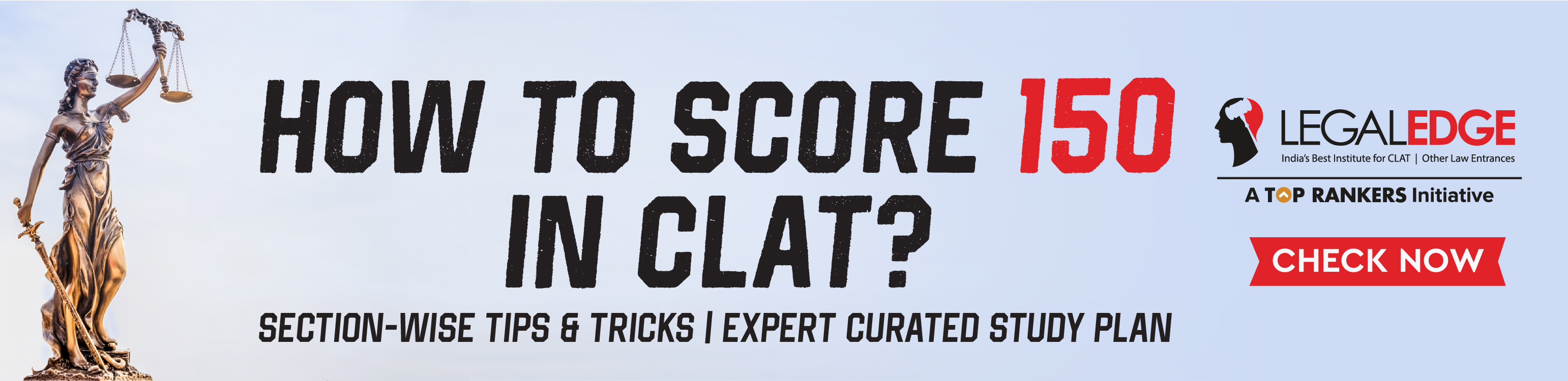 how to score 150 in clat