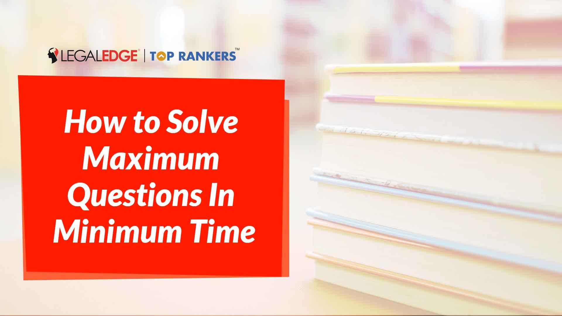 Quantitative Techniques | How to Solve Maximum Questions In Minimum Time | By Saurabh Sir