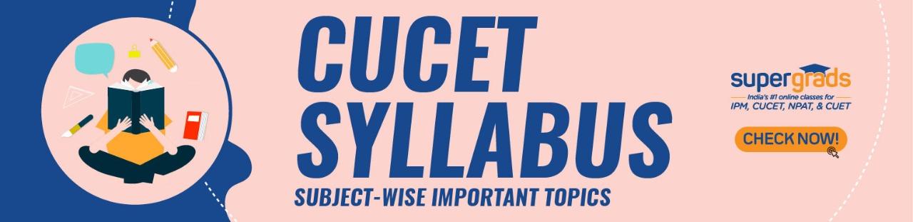 cucet syllabus