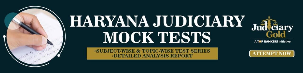 haryana judiciary mock test