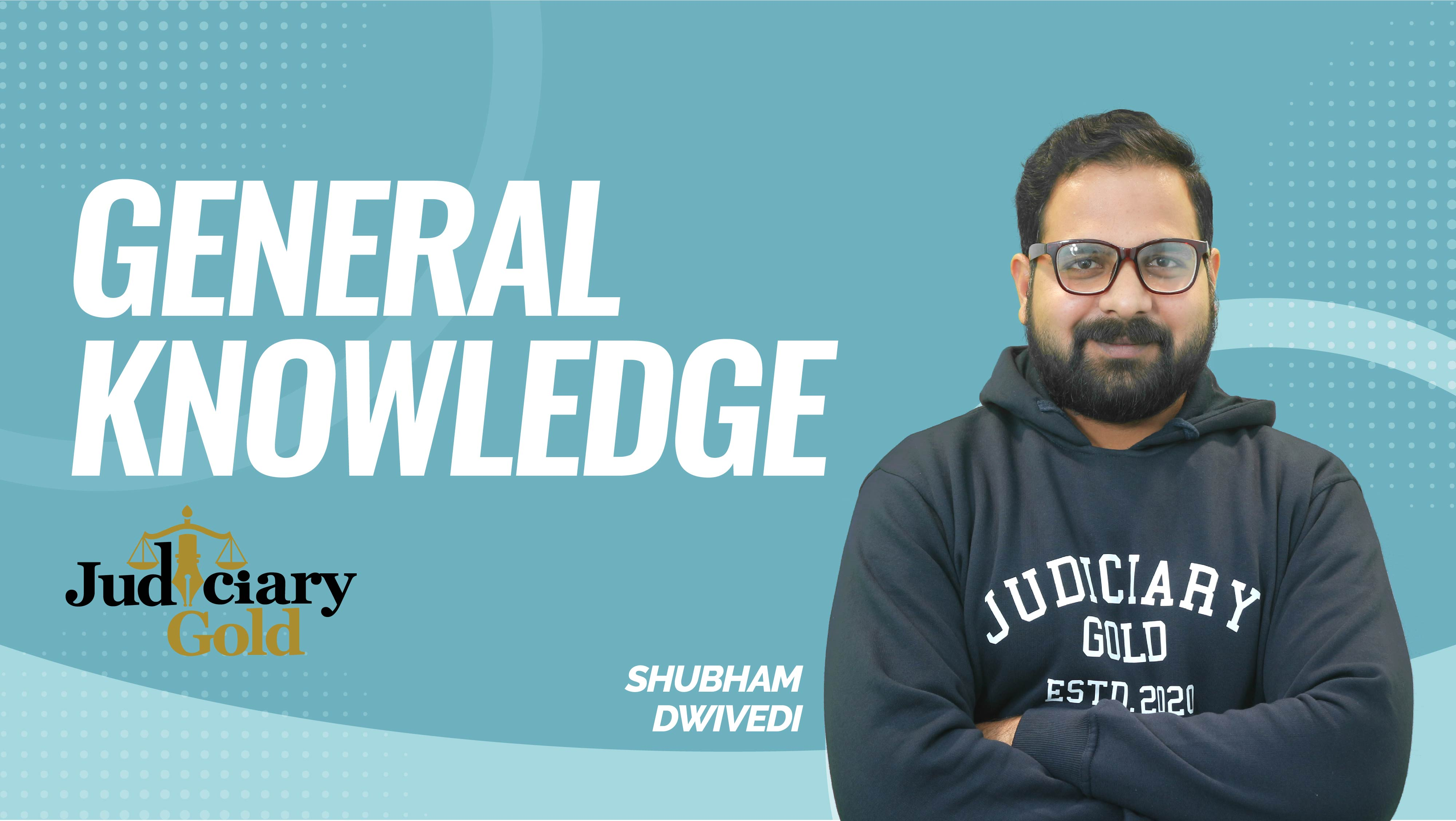Judiciary Gold | General Knowledge | CA 28 August | By Shubham Dwivedi Sir