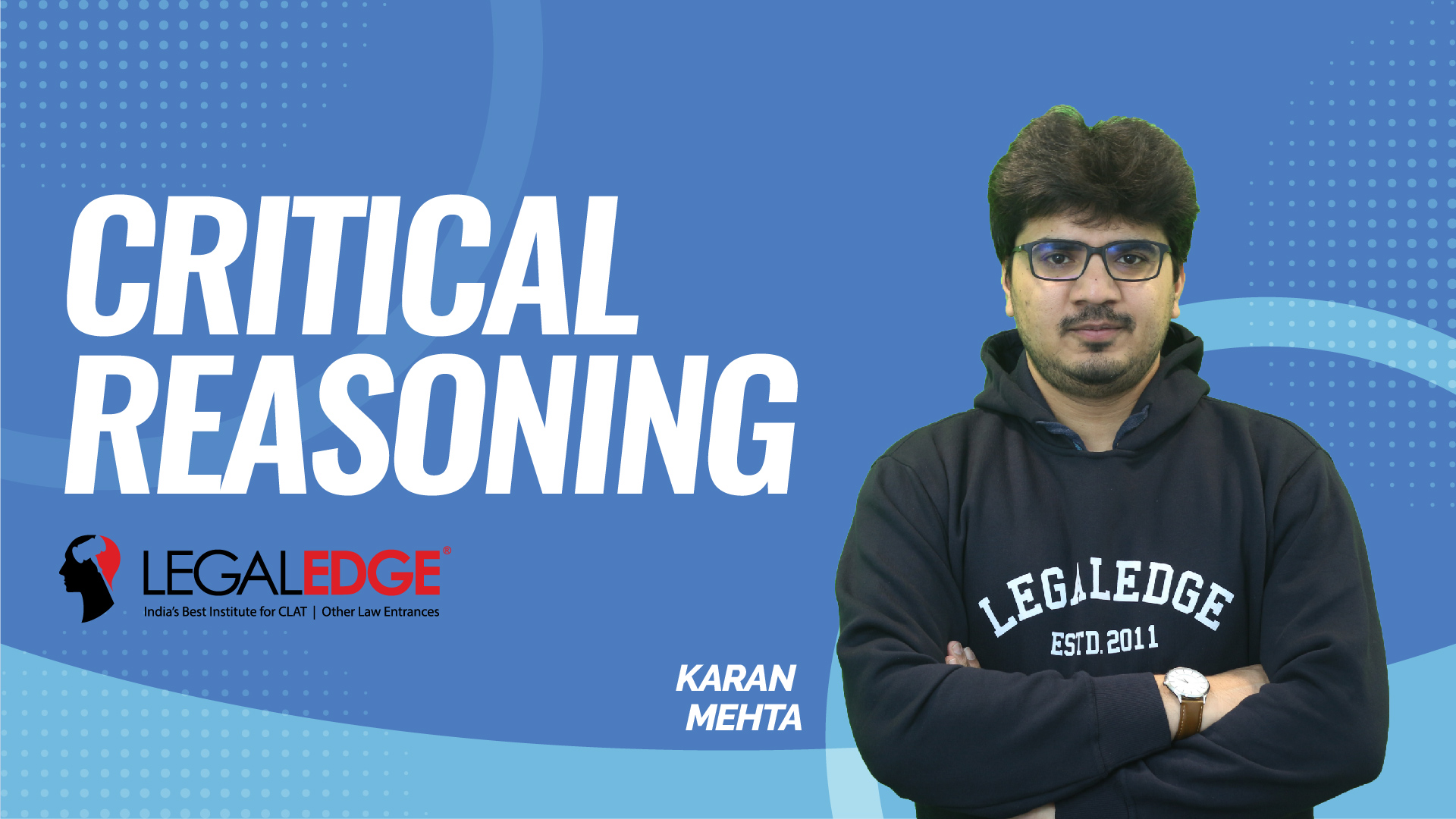 CLAT Gold | Critical Reasoning | Syllogisms (Hidden Propositions) | by Karan Sir