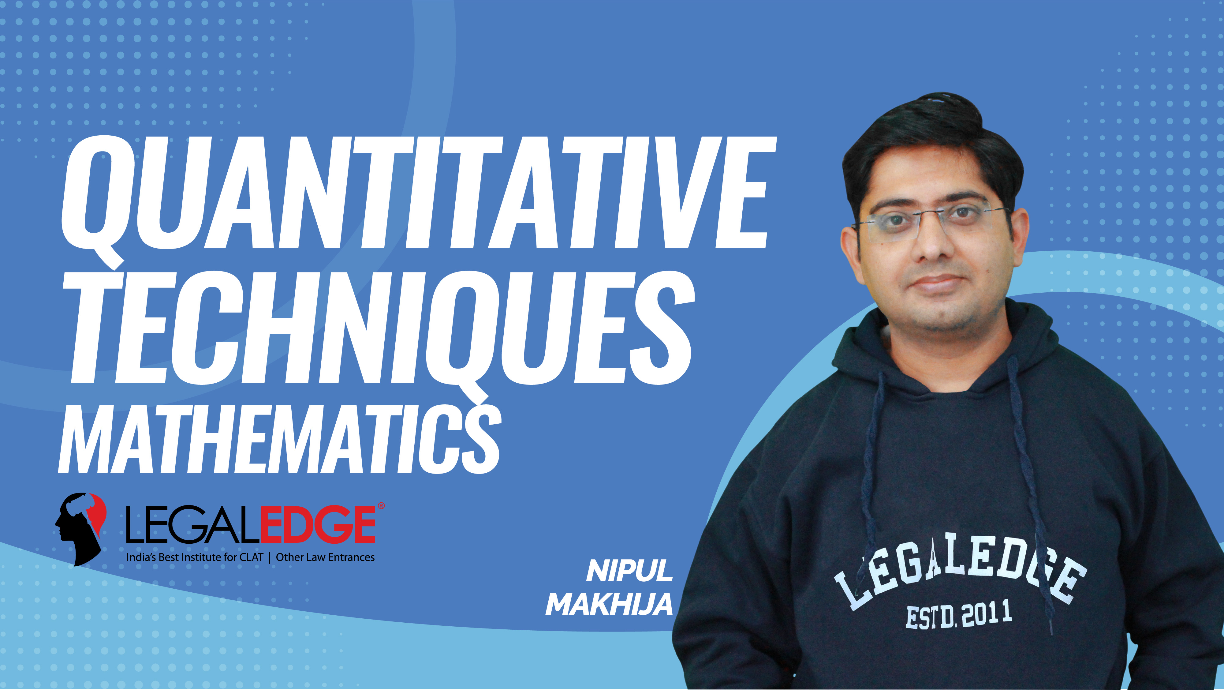 CLAT Gold | Quantitative Techniques | Permutation and Combinations - 1 | by Nipul Sir