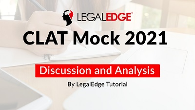 CLAT Mock 13 | English Language