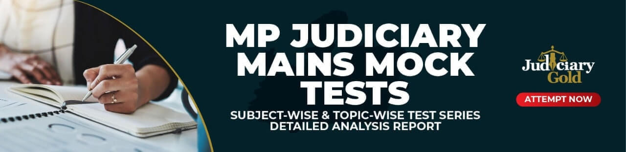 MP Judiciary mock test