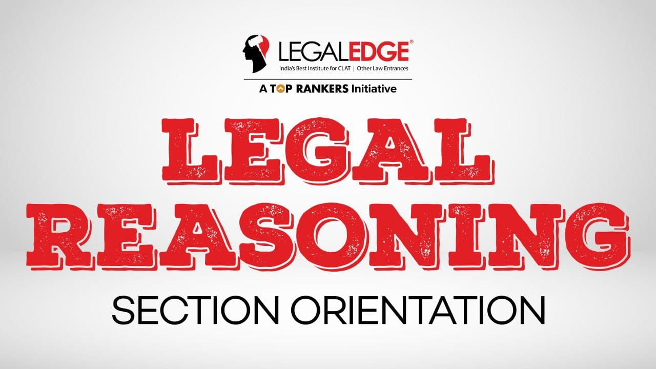 Section Orientation | Legal Reasoning