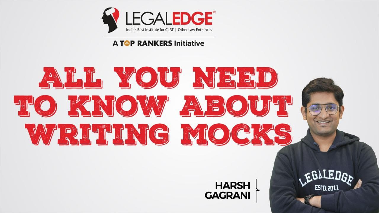 All You Need To Know About Writing Mocks By Harsh Sir