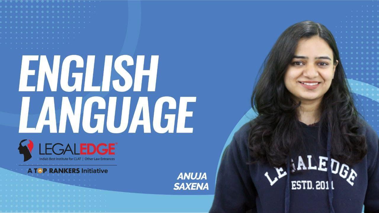 CLAT Gold | English Language | Vocabulary & Grammar | By Anuja Ma'am