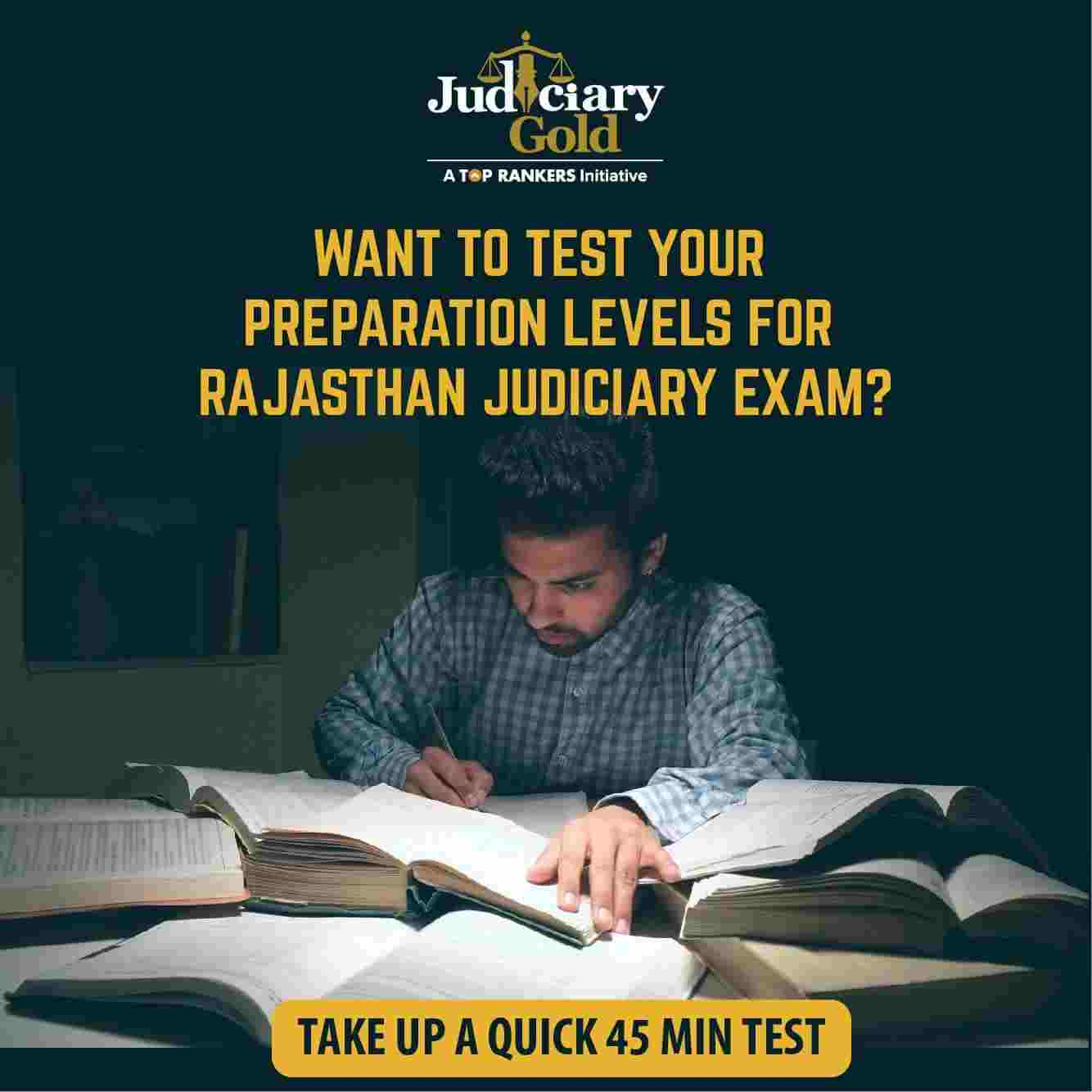 Rajasthan judiciary mock test