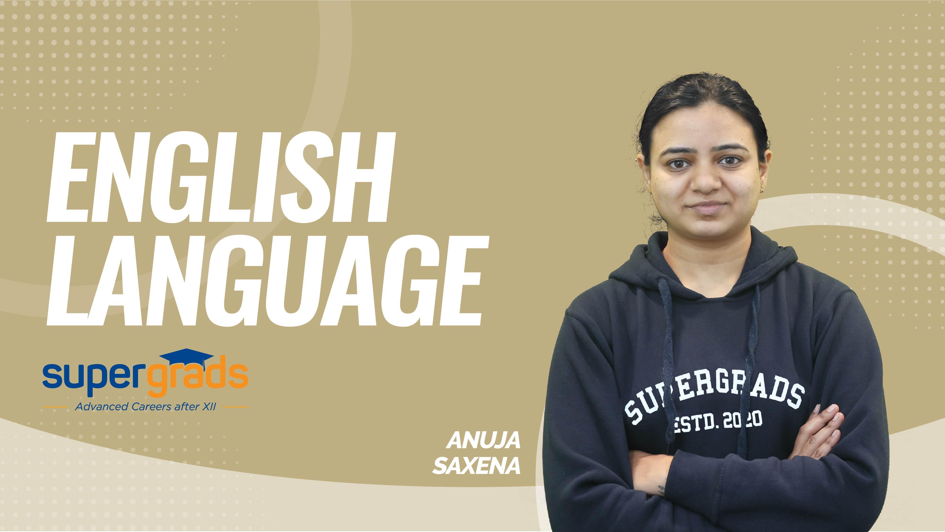 English Language | Parts Of Speech Identification | By Anuja Ma'am