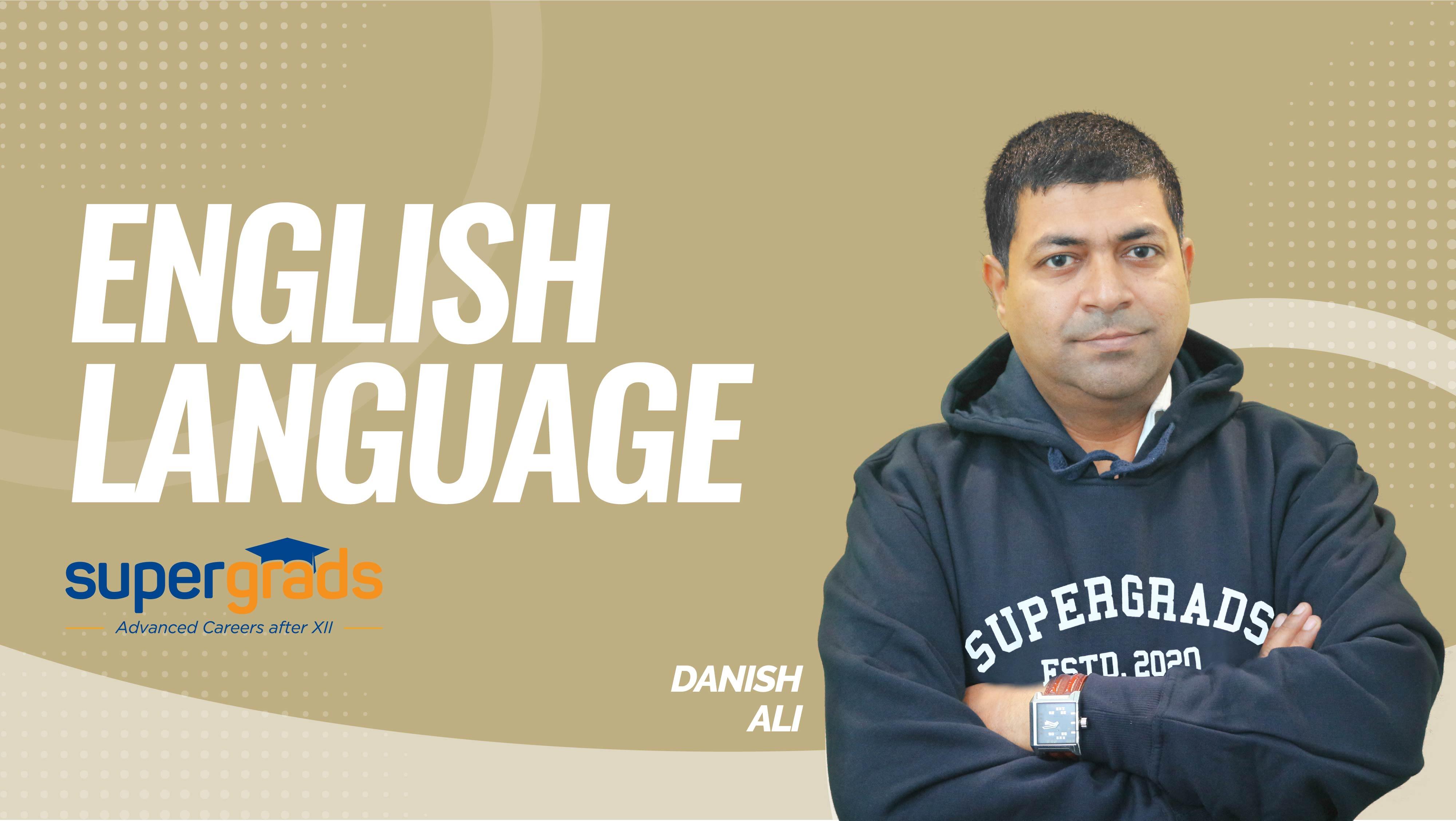 SuperGrads | English Language |   Summaries , Logical Completion , Odd Sentences | By Danish Sir