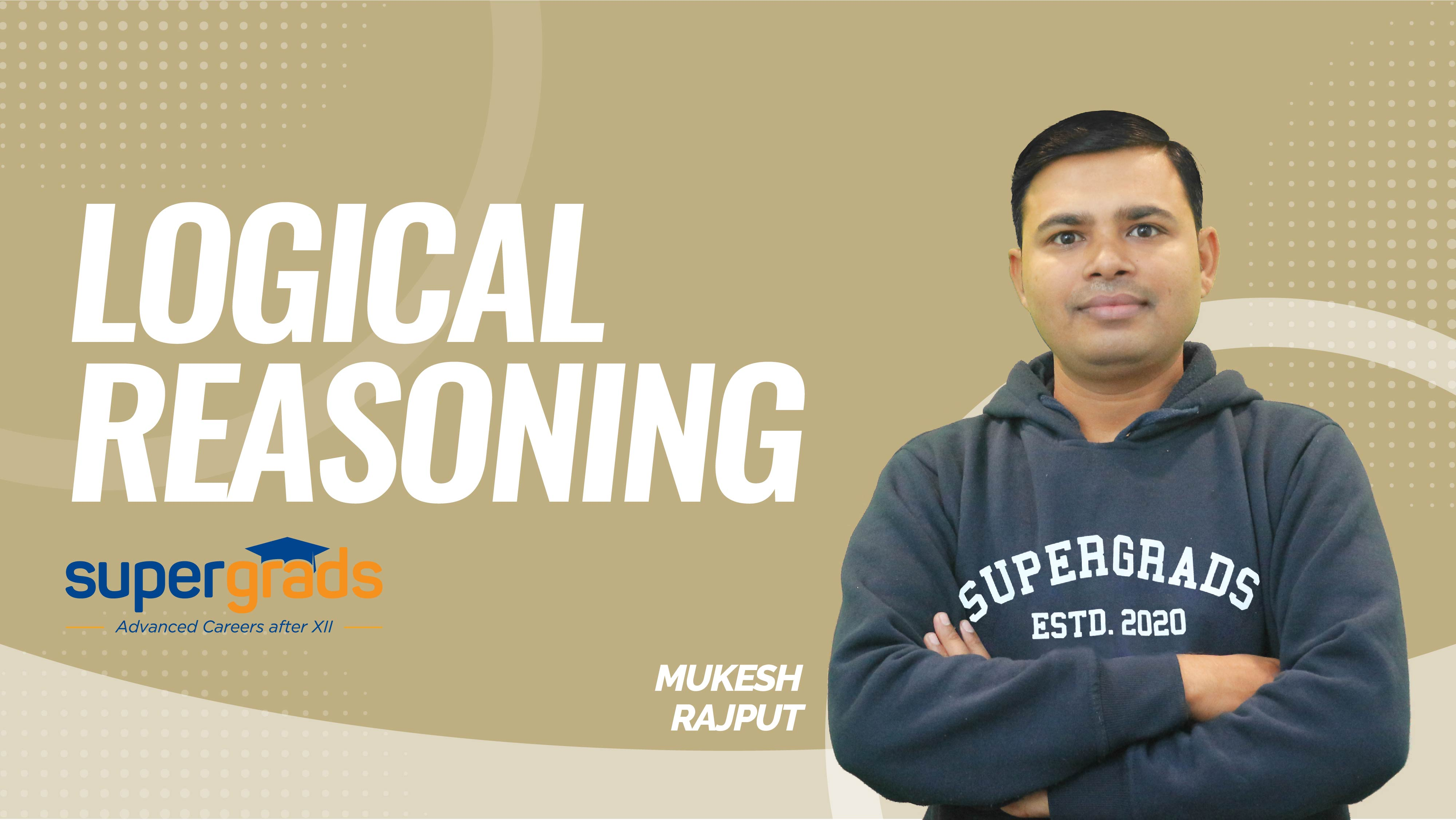 SuperGrads | Logical Reasoning | Revision Test- Direction Test & Coding Decoding 2 | by Mukesh Sir
