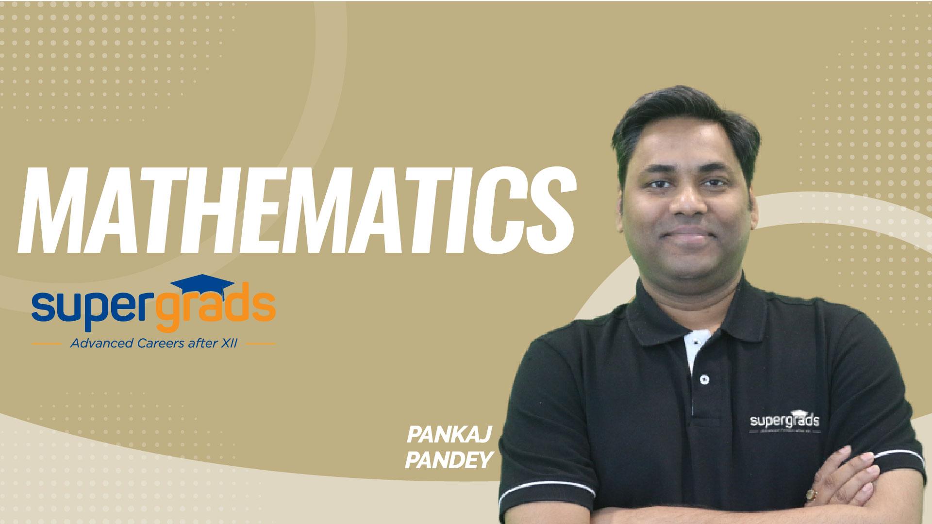 SuperGrads | Mathematics | Percentage | Problem Solving Session -01 | by Pankaj  Sir