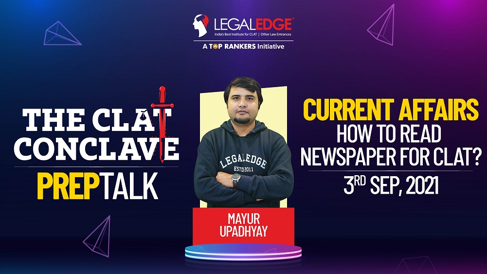 How to Read Newspaper For CLAT? By Mayur Sir