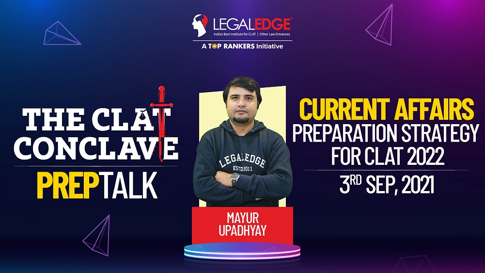 Preparation Strategy for CLAT 2022 | By Mayur Sir