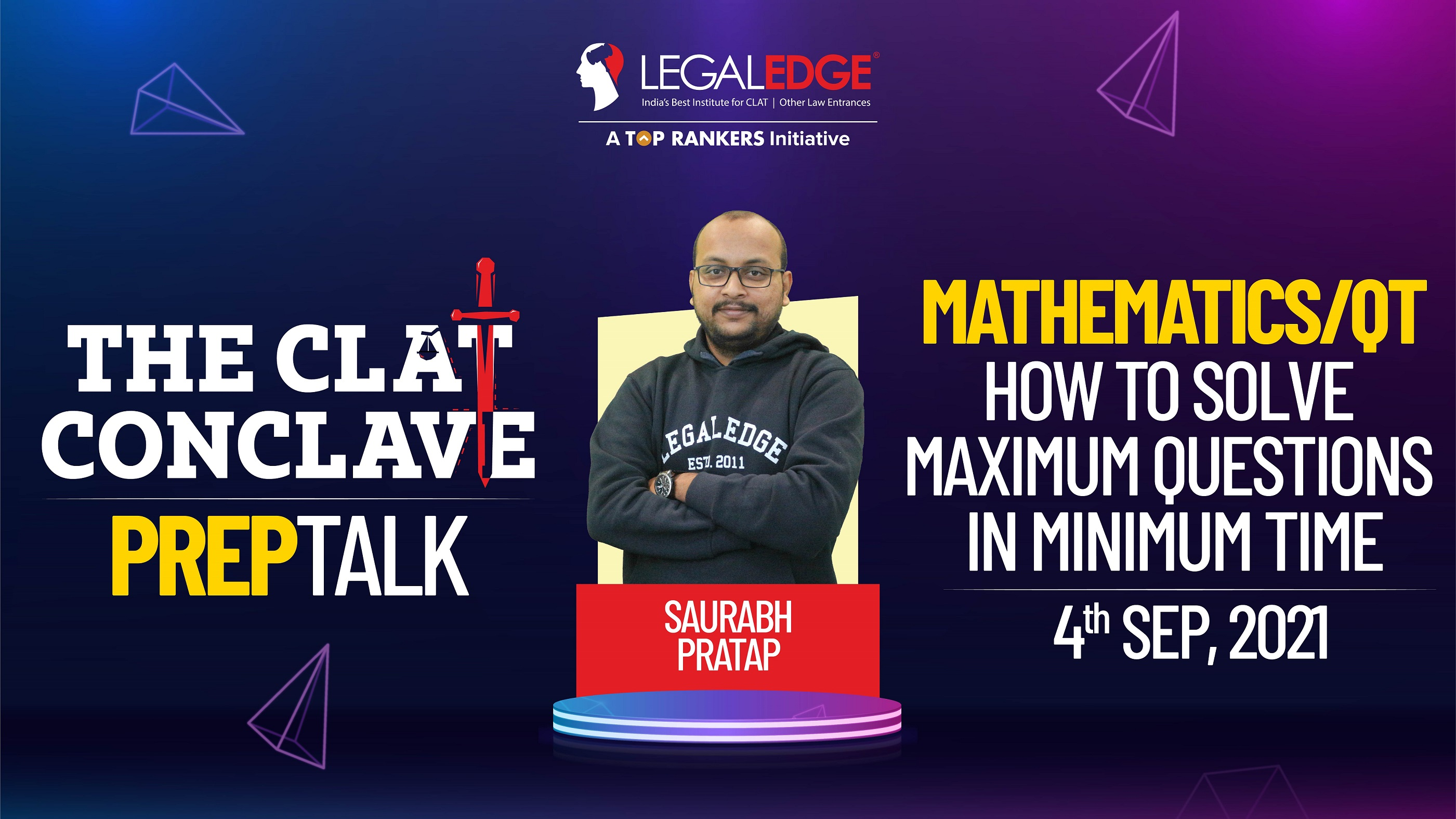 How to Solve Maximum Questions In Minimum Time |  By Saurabh Sir
