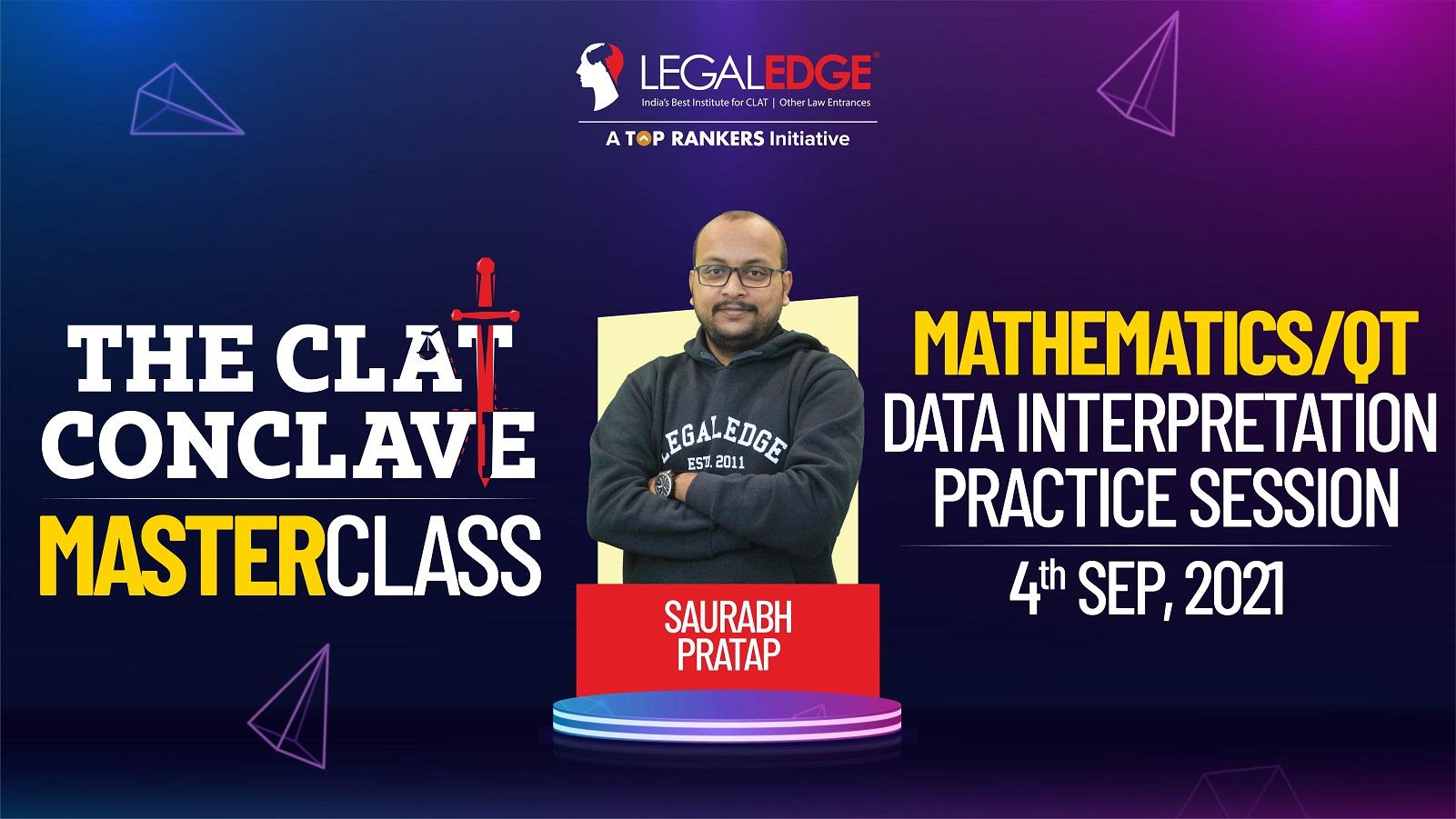 Data Interpretation Practice Session | By Saurabh Sir