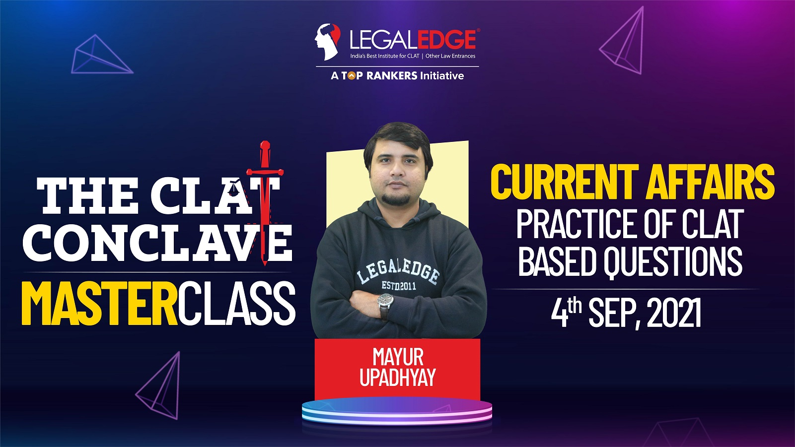Practice of CLAT Based Questions  | By Mayur Sir