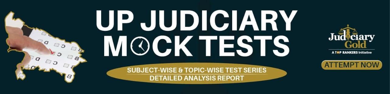 up judiciary mock test