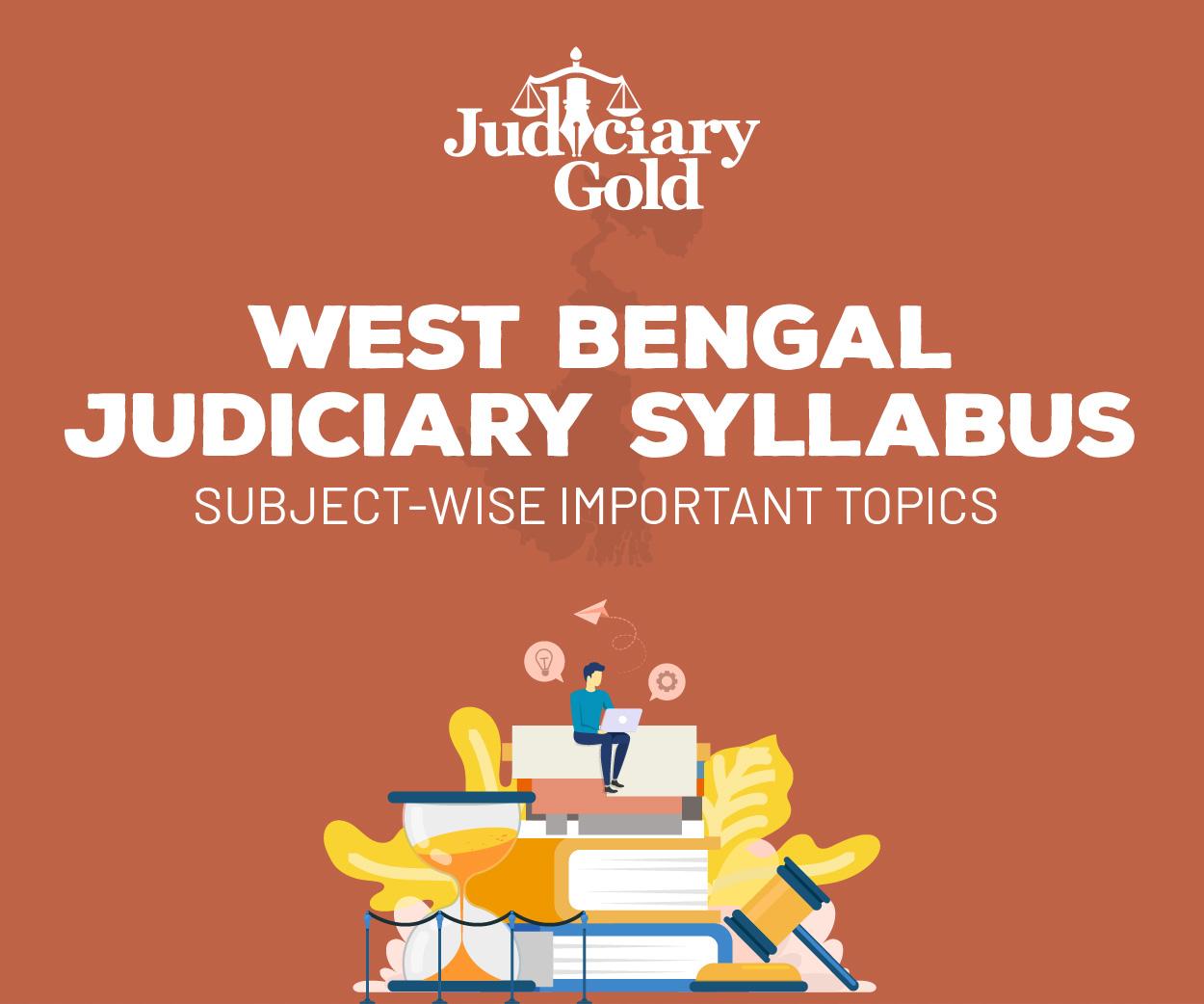 West Bengal Judiciary Syllabus