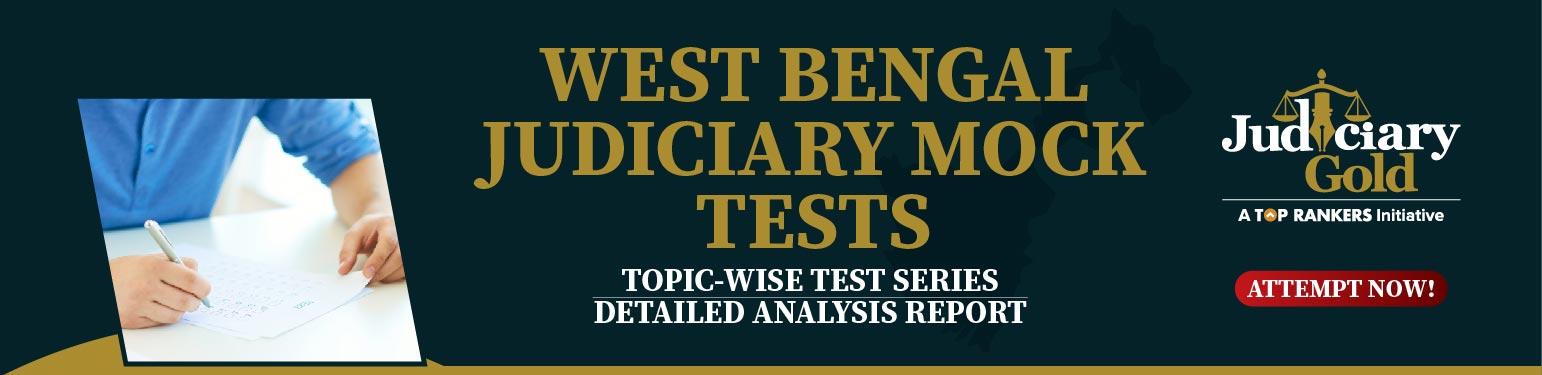 west bengal Judiciary Mock Tests