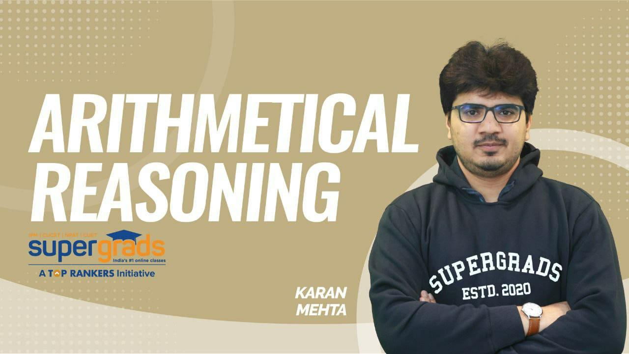 SuperGrads | Arithmetical  Reasoning  by Karan Sir